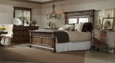 Introducing Accentrics Home by Pulaski Furniture's Bedroom Collection.