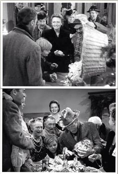 It's a Wonderful Life (1946) - Donna Reed and James Stewart