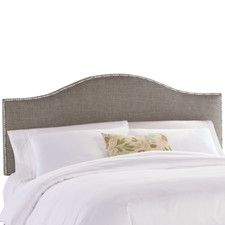 Nail Button Groupie Upholstered Headboard