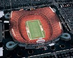 Arrowhead Stadium - Go Chiefs! - Almost perfect....at 9-0....then came Denver ;)
