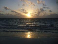 Cancun serene sunrises