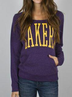 NBA Los Angeles Lakers Fadeaway Fleece - Women's Collections - NBA - All - Junk Food Clothing