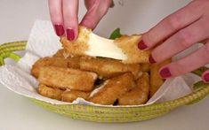 Voici une des folies de MiniCook: les beignets de mozza faciles. Une sérieuse entrave à votre régime-bikini mais qui au moins en vaut la peine. A la fois fondants et croustillants, ces beignets de mozzarella panés sont vraiment à tomber et d'une facilité déconcertante!