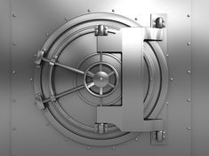 An Illustration of a Door to a Bank Vault - Photo courtesy of ©iStockphoto.com/Madmaxer, Image #13516826