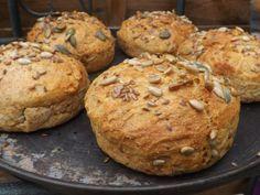 Petits pains sans pétrissage ig bas