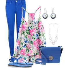 """""""Bright Jeans"""" by justjules2332 on Polyvore"""