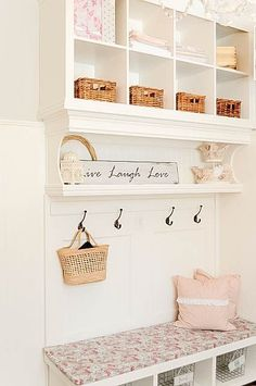25+ real-life mudroom and entryway decorating ideas by bloggers including mudroom build plans and shoe storage plans