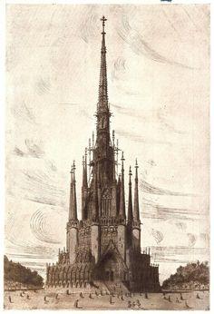 Historical Designs / Utopias / Monuments - Never built - SkyscraperCity José Puig y Cadafalch y D. José Goday y Casals: