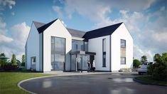 The works will modernize the elevations and refurbish the interior, bringing functionality to the existing, disjointed layout. House Designs Ireland, Houses In Ireland, Dream House Interior, Dream Home Design, Bungalow House Design, Modern House Design, Octagon House, Architect House, Model Homes