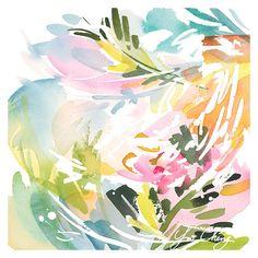 Arte imprimir colores entretenidos no. 2 acuarela