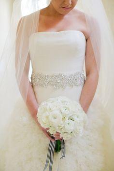 Dreamy gown! http://www.stylemepretty.com/destination-weddings/2015/04/23/black-tie-cabo-san-lucas-wedding/ | Photography: Sara Richardson - http://www.sararichardsonphoto.com/