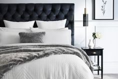 Sheridan now selling bedheads at studio stores Bedroom Panel, Home Bedroom, Luxury Bedding Master Bedroom, Matching Bedding And Curtains, Bed, Luxury Bedding, Luxury Bedding Sets, Bedding Stores, Headboards For Beds