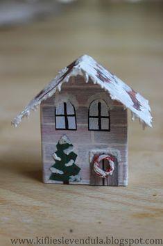 Kifli és levendula: november 2015 Bird Houses, Projects, Project Ideas, Outdoor Decor, November, Christmas, Design, Holidays, Times