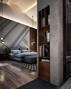 Contemporary Monochromatic by Mai Elhossiny Architect.