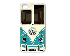 Apple iPhone 4 4G 4S / iPhone 5 5G / iPod Touch 5 Case Cover Vintage Beetle Mobile Phone Accessory on Etsy, $11.99