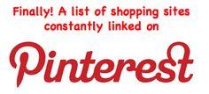 Pinterest Shopping List: <!--[if gte mso 9]>        <![endif]-->  <!--[if g...