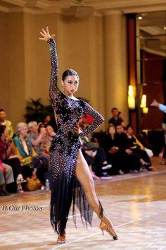 Veronika Dincher's photos Latin Ballroom Dresses, Ballroom Dancing, Latin Dresses, Sexy Dresses, Nice Dresses, Ballroom Costumes, Dance Costumes, Baile Latino, Geisha