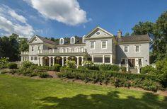 65 Clapboard Ridge Road, Greenwich, CT | 14,496 sf | 6 bed | 6 full 2 half bath | Georgian Colonial built 1999 | 3.85 acres | $12,495,000.