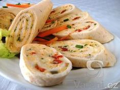 Fresh Rolls, Deli, Finger Foods, Food And Drink, Snacks, Ethnic Recipes, Tortillas, Fit, Mince Pies