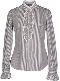 GANT Green Stripe Long Sleeve Shirt