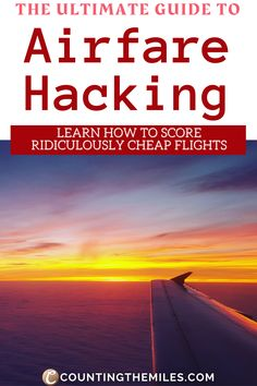 Finding airfares eating away the biggest share of your trip expense? Here is a list of 16 ways in which you can save a ton of money on flight tickets. These tricks are time tested, safe, and work to this date. Cheap Flight Tickets | Cheap Flight Hacks | How to get a cheap flight | Cheap Flight Websites Cheap Airline Tickets | Cheap flights how to find | Cheap flights how to get | Airfare Hacks #CheapFlights #WaysToFindCheapFlights #AirfareHacks #CheapFlightTickets