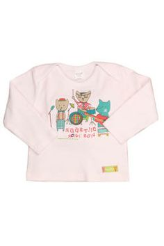 "Newborn boys long-sleeved t-shirt with a unique ""Noisy Boys"" graphic print and Naartjie Kids SA label. 100% cotton excluding trims."