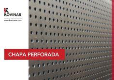 Chapa Perforada Ideal para cerramientos, parasoles, rejas, protección solar, etc. #kovinar #kovinarsa #perforada #chapaperforada #contruccion #arquitectura #microperforada #laser #metal #cerramiento #parasoles #rejas #detalle