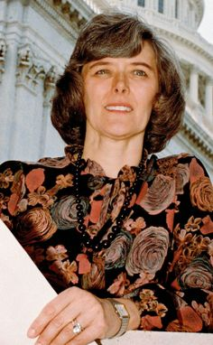 Patricia Schroeder was the first woman elected to the Congress from Colorado. She was also the first woman to serve on the House Armed Services Committee.