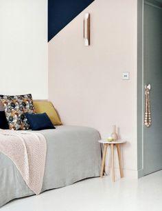6 Pastel Color Block Walls We're Loving | Sugar & Cloth