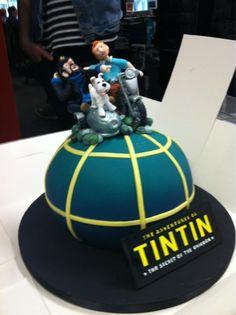 Tintin cake • Tintin gateaux