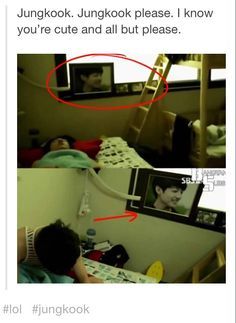 Do you really have a picture of yourself in your room Jungkook? :') #BTS