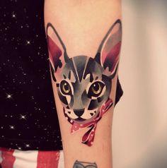 les tatouages d'animaux de Sasha Unisex - un chien (3)
