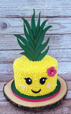Hawaii Luau Party Ideen, Hawaii Luau Partyzubehör - [board_name] - Kuchen Flamingo Party, Flamingo Birthday, Flamingo Cake, Pinapple Cake, Pinapple Birthday Cake, Pineapple Cupcakes, Luau Cakes, Pool Party Cakes, Luau Party Supplies