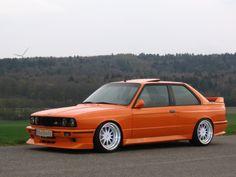 orange E30