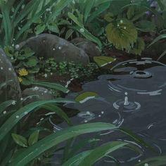 """ anime ~ manga ~ scenery ~ art my gifs Secret World Of Arrietty, The Secret World, Anime Gifs, Anime Art, Arte 8 Bits, The Garden Of Words, Casa Anime, Japon Illustration, Gif Animé"