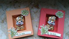 Mini Shadow Box für ein Mini Osterhase mit Produkten von Stampin up