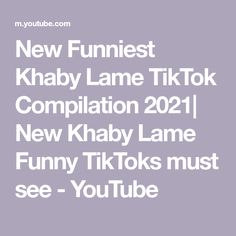 New Funniest Khaby Lame TikTok Compilation 2021| New Khaby Lame Funny TikToks must see - YouTube Making Youtube Videos, The Creator, Funny, Funny Parenting, Hilarious, Fun, Humor