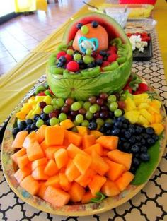 Fruit Platter - baby shower by corina