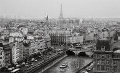 Paris skyline by Katie Moos