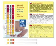 Finclub test na zjištění pH organismu (pH proužky) Avon, Ph, Grid, Periodic Table, Periodic Table Chart