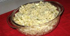 If you want a quick, toss-together recipe for macaroni salad for your summer BBQs, this is it right here.