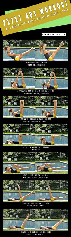 Workout for perfect Abs within a month Hi Everyone ! Abs formation isn't tough now, we have best Abs workout that within a month you . Fitness Diet, Fitness Motivation, Health Fitness, Health Exercise, Fitness Sport, Forma Fitness, Workout Bauch, Mental Training, I Work Out