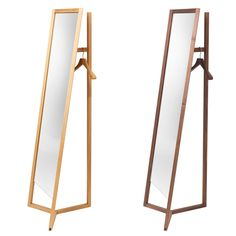 Mirror with Clothes Rack