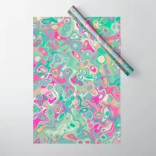 Flamingo river Wrapping Paper by okopipidesign Double Stick Tape, Discover Yourself, Flamingo, Stationery, Wraps, Gift Wrapping, River, Design, Flamingo Bird
