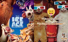 Vamos al cine a ver La era de hielo: Choque de Mundos :) #pelicula #cine