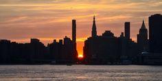Manhattanhenge 2017: quando e dove osservare lo spettacolare solstizio di New York