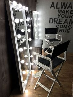 Купить Кресло режиссера OXYMORON. - серебряный, стул, стул режиссера, кресло режиссера, режиссерское кресло