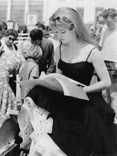 Brigitte Bardot in Cannes, 1956