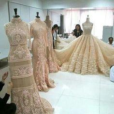 Stunning lace fashion