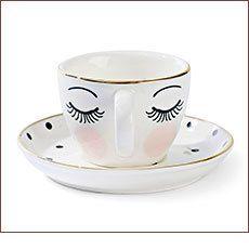 Miss Étoile Espresso Cup Eyes & Dots